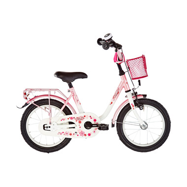"Vélo Enfant VERMONT GIRLY 14"" Rose/Blanc 2019"